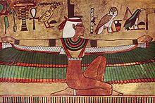 Isis 1360 fKr egypten